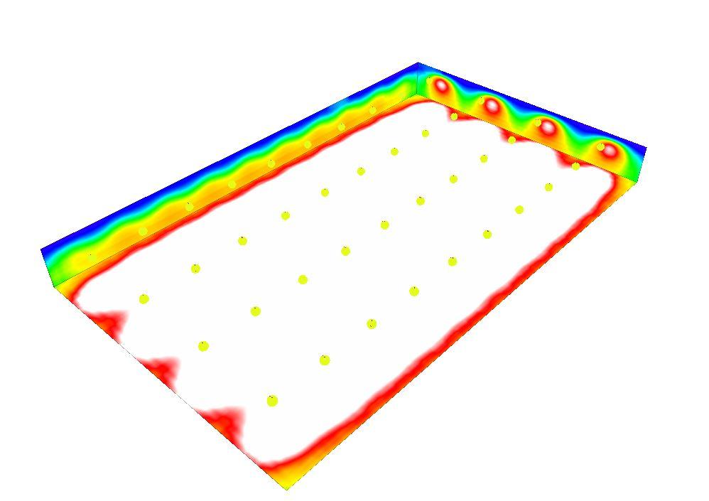 Beispiel Lichtplanung tempLED RayBeam 500